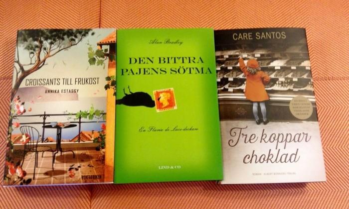 3 läckra romaner att sluka!