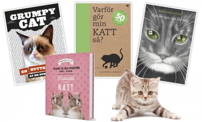Böcker för alla kattälskare