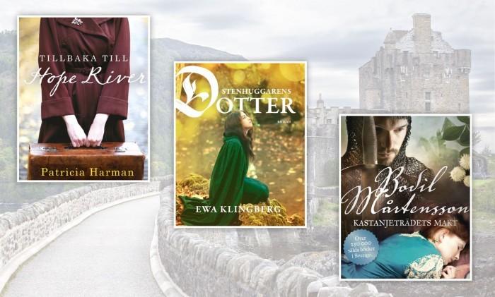 Höstmys med nyutkomna historiska romaner