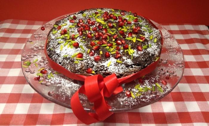 Tryffeltårtan som kan stå framme hela julen