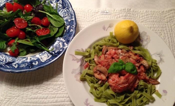 VÄRLDENS SNABBASTE: Italiensk fiskgryta på 8 minuter