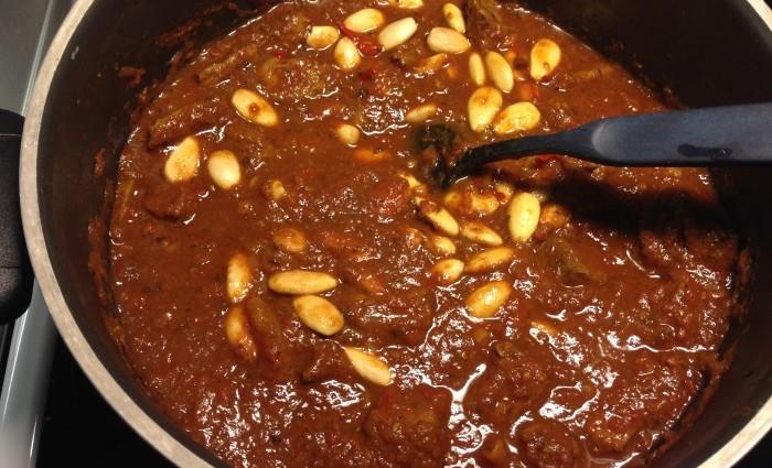 Mustig marockansk köttgryta