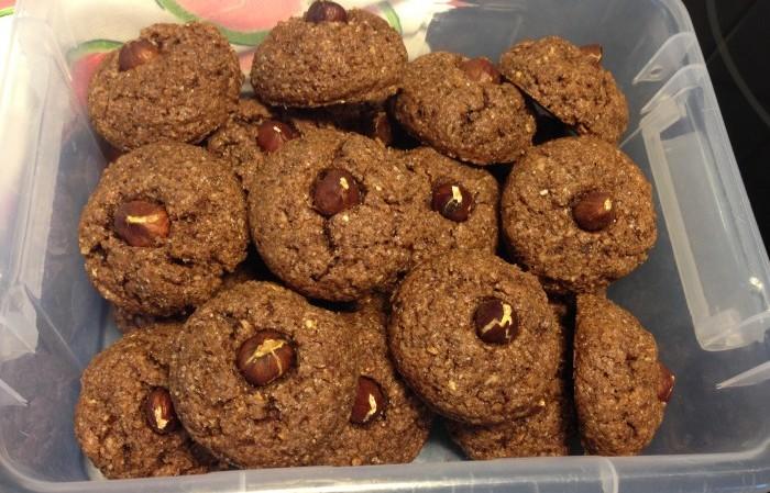 Sotarmurrar - läckra glutenfria småkakor av bara 4 ingredienser
