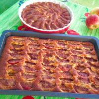 Snabbaste äppelkakan i rund form eller långpanna