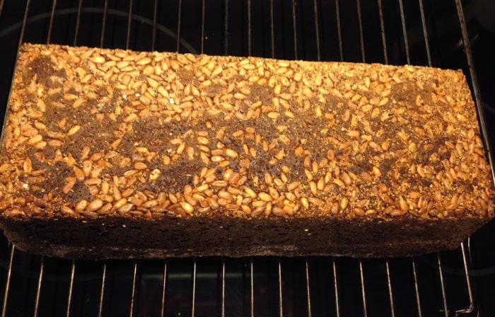 Lättbakat grovbröd av surdeg (du behöver ingen surdeg)