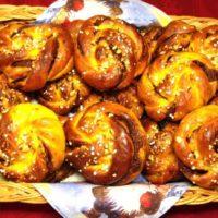 Saffransknutar med nutella