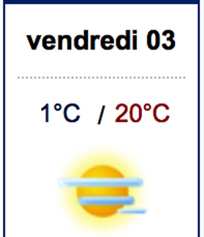 Vilket föredrar du; +5 och regn i Tranås eller +20 och sol i Aurgnac? Jag trodde väl det, du skulle också vilja flytta dit. Gör det vet jag, de ska visst få en alldeles förtjusande president, sägs det.