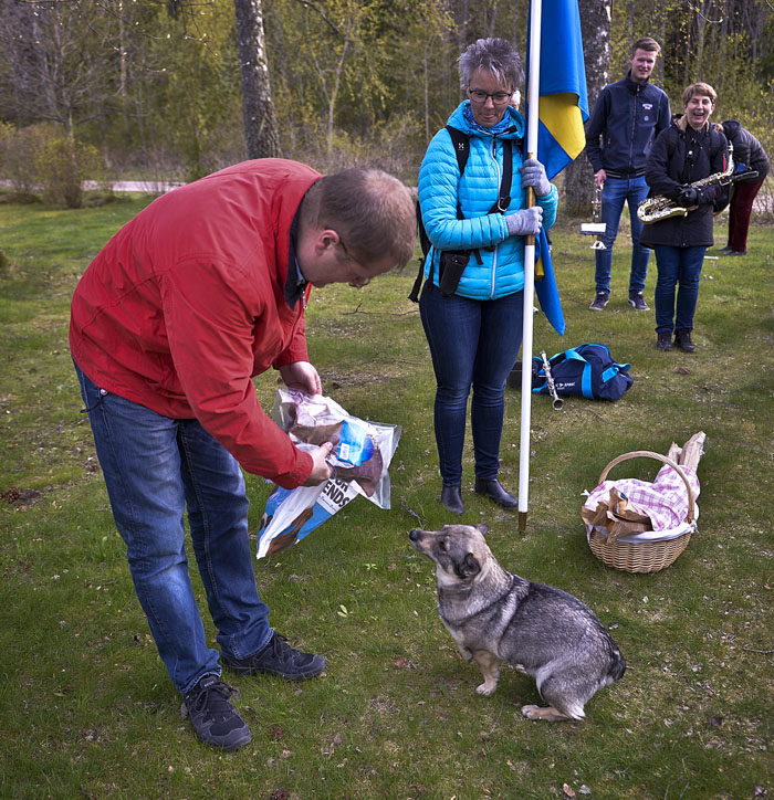 Tranås Kommun: Tranås Musikkår Hyllade Mig